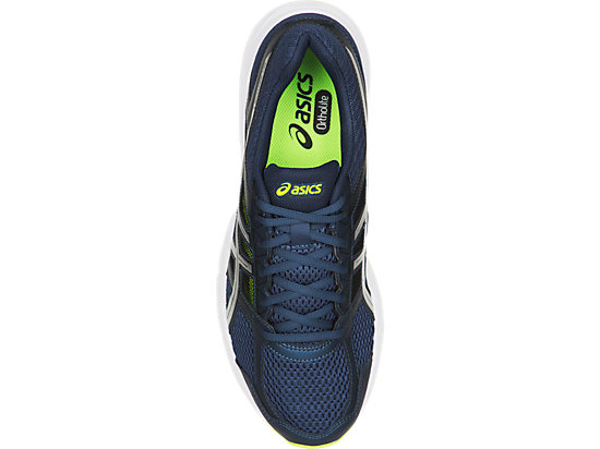 GEL-CONTEND 4 DARK BLUE/SILVER/SAFETY YELLOW