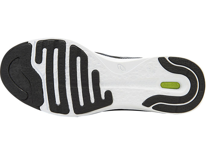 Bottom view of Zapatilla de running FUZEX RUSH para hombre, MIDGREY/BLACK/WHITE