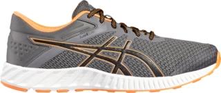 Asics Fuzex Zapatos Para Hombre Negro Corriendo / Naranja Caliente GqYLTe