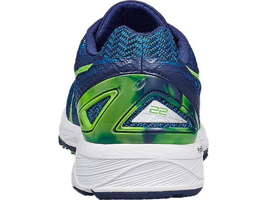 Zapatilla de running GEL-DS TRAINER 22 para hombre INDIGO BLUE/GREEN GECKO/THUNDER BLUE 19 BK