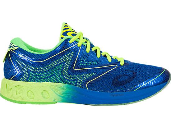 green asics shoes