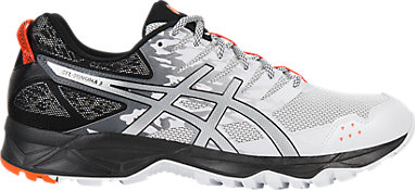 956532e7f8ee GEL-Sonoma 3 | MEN | White/Silver/Hot Orange | ASICS US