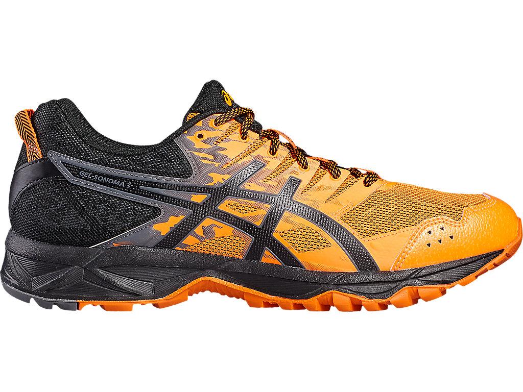 e58e2b6c GEL-SONOMA 3 | Men | SHOCKING ORANGE/BLACK/CARBON | Trail Shoes | ASICS