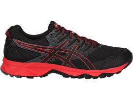 GEL-SONOMA 3, BLACK/FIERY RED/BLACK