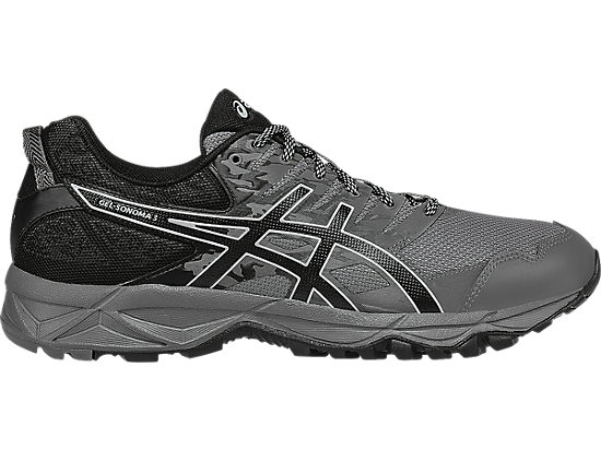 ASICS Men's GEL-Sonoma 3 Trail Running Shoes, Carbon