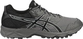 ASICS GEL-SONOMA 3 - Trail running shoes - black/neon lime