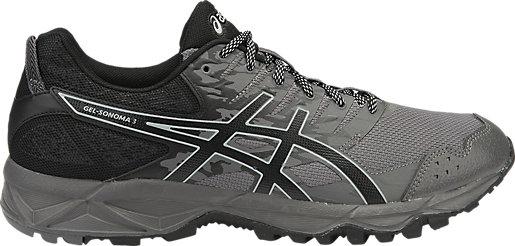 ASICS GEL-SONOMA 3 - Trail running shoes - black/neon lime xw162yt50p