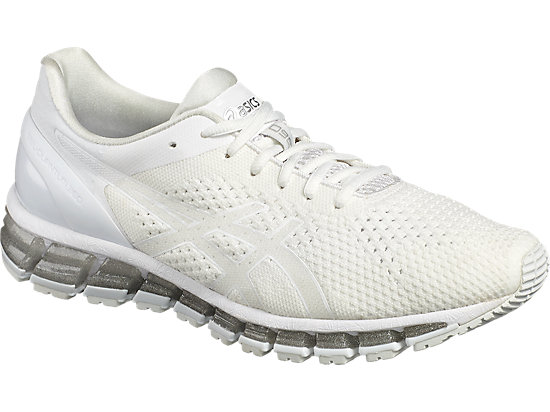 GEL-QUANTUM 360 KNIT WHITE/SNOW/SILVER 7 FR