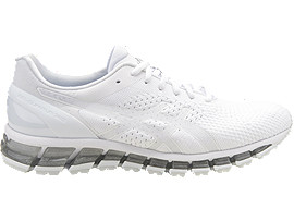 Right side view of GEL-QUANTUM 360 KNIT, White/Snow/Silver