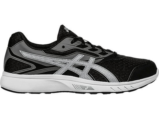 Asics Stormer Ladies Trainers Black/Silv/Wht