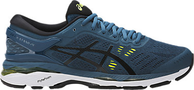 c93d0d59e3bc3 GEL-Kayano 24 | Men | Ink Blue/Black/Safety Yellow | ASICS US