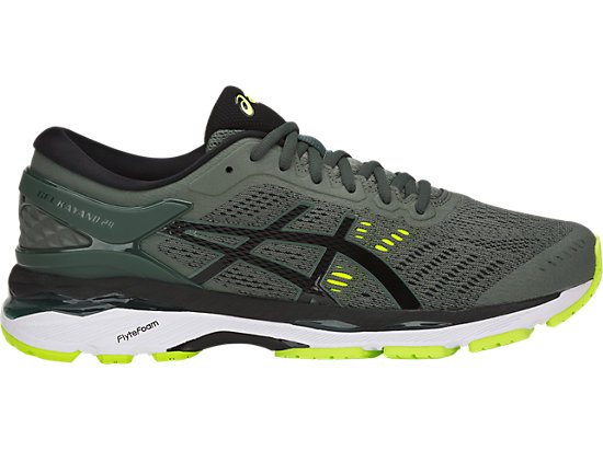 GEL-KAYANO 24 DARK FOREST/BLACK/SAFETY YELLOW
