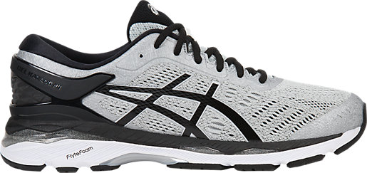 GEL-Kayano 24 Silver Black Mid Grey 3 RT e7bd9ae1d7