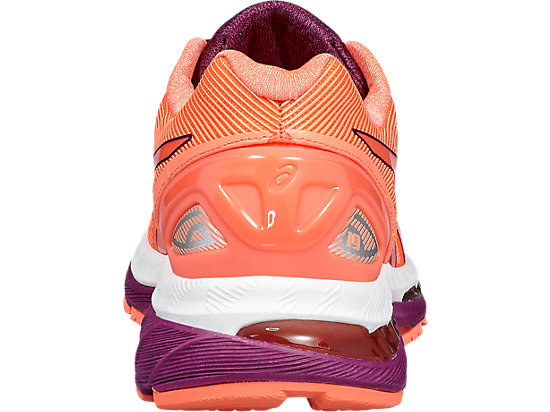 GEL-NIMBUS 19 FLASH CORAL/DARK PURPLE/WHITE 19
