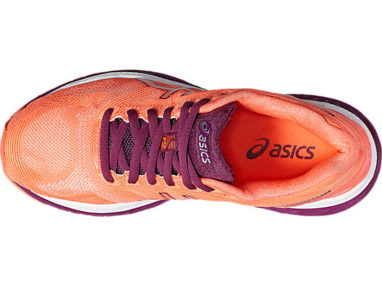 GEL-NIMBUS 19 FLASH CORAL/DARK PURPLE/WHITE 15