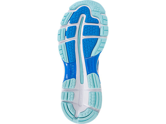 GEL-NIMBUS 19 pour femmes DIVA BLUE/FLASH CORAL/AQUA SPLASH 11