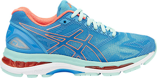 GEL-NIMBUS 19 DIVA BLUE/FLASH CORAL/AQUA SPLASH 3 RT
