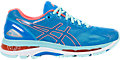 GEL-NIMBUS 19 pour femmes:DIVA BLUE/FLASH CORAL/AQUA SPLASH