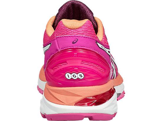 GT-2000 5 Damen Straßenlauf Schuhe PINK GLOW/WHITE/DARK PURPLE 19