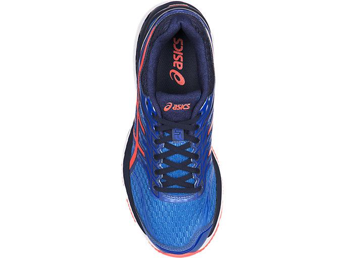 Top view of GT-2000 5, Regatta Blue/Flash Coral/Indigo Blue