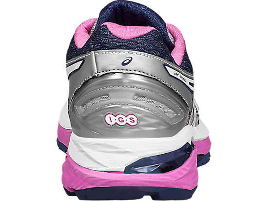 GT-2000 5 Damen Straßenlauf Schuhe MIDGREY/WHITE/PINK GLOW 19 BK