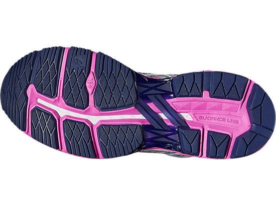 GT-2000 5 Damen Straßenlauf Schuhe MIDGREY/WHITE/PINK GLOW 11 BT