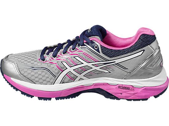 GT-2000 5 Damen Straßenlauf Schuhe MIDGREY/WHITE/PINK GLOW 7 LT