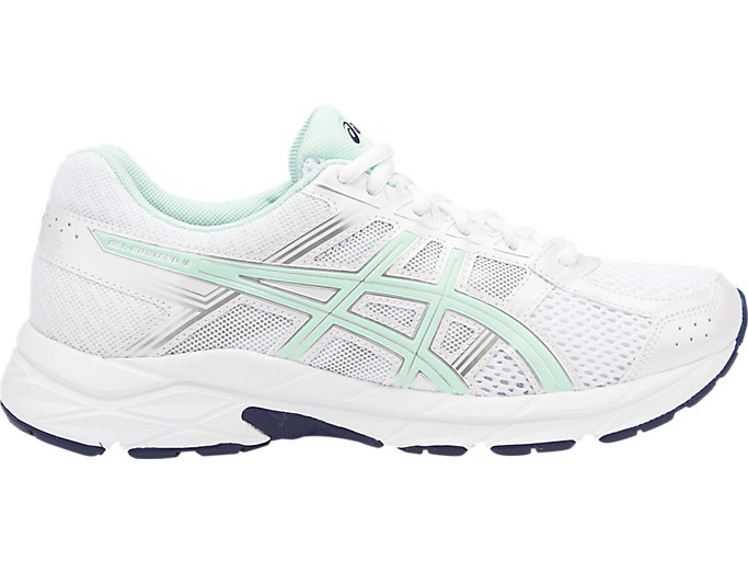Women's GEL Contend 4 WhiteBaySilverJoggeskoASICS WhiteBaySilverJoggesko ASICS