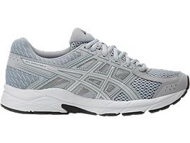 GEL-CONTEND 4, MID GREY/SILVER