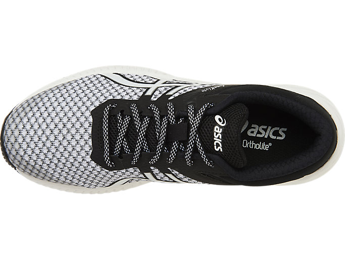Top view of FUZEX LYTE 2, White/Black/Silver
