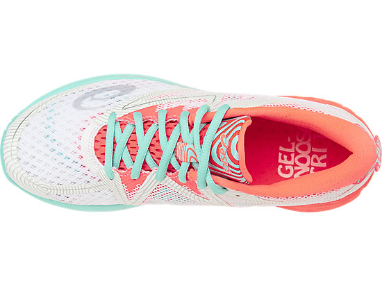 NOOSA FF WHITE/FLASH CORAL/AQUA SPLASH