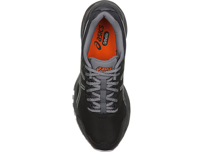 Top view of GEL-SONOMA 3, BLACK/DARK GREY