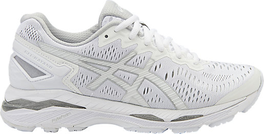 GEL-KAYANO 23 SUMMER PACK WHITE/SNOW/SILVER 3 RT