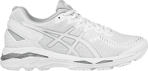 GEL-Kayano 23 White/Snow/Silver 3 RT