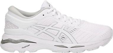 4b5e4a78e4d GEL-KAYANO 24 WHITE WHITE SILVER 3 RT