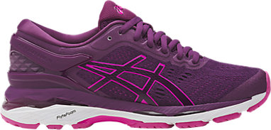 GEL-Kayano 24 | WOMEN | Prune/Pink Glow/White | ASICS US
