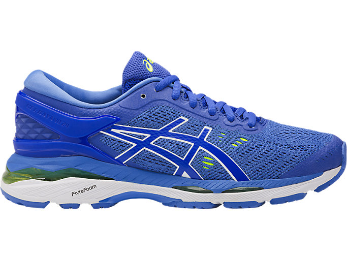 Right side view of GEL-KAYANO 24, BLUE PURPLE/REGATTA BLUE/WHITE