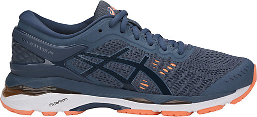 GEL-Kayano 24 Smoke Blue/Dark Blue/Canteloupe 3 RT
