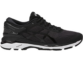 GEL-KAYANO 24, BLACK/PHANTOM/WHITE