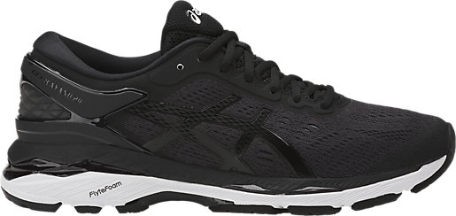 GEL-Kayano 24 Black/Phantom/White 3 RT