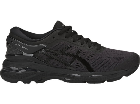 GEL-KAYANO 24, BLACK/BLACK/CARBON
