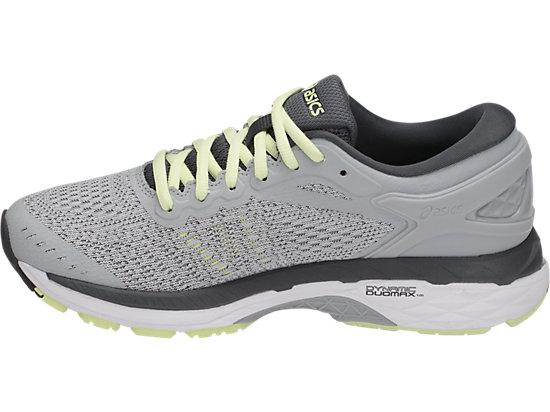ASICS WOMENS GEL KAYANO 24 Running Sneakers scarpa T799N 9601 Glacier Grey 6.5,10