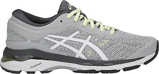 GEL-Kayano 24 Glacier Grey/White/Carbon 3 RT