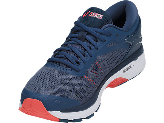 GEL-KAYANO 24 (2E) SMOKE BLUE/SMOKE BLUE/DARK BLUE