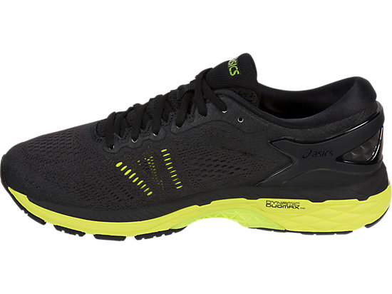 GEL-KAYANO 24 (2E) BLACK/GREEN GECKO/PHANTOM