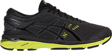 2519822352 GEL-KAYANO 24 (2E) | MEN | Black/Green Gecko/Phantom | ASICS New Zealand