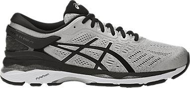 4013e68029d2 GEL-Kayano 24 (2E) Silver Black Mid Grey 3 RT
