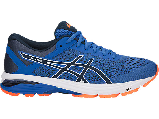 GT-1000 6   Men   Victoria Blue Dark Blue Shocking Orange   ASICS US a1d0a359592c