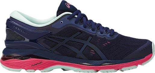 Back to Womens Road Running Shoes. GEL-Kayano 24 Lite-Show Indigo  Blue/Black/Reflective 3 RT