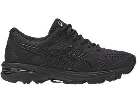 asics shoes black and white